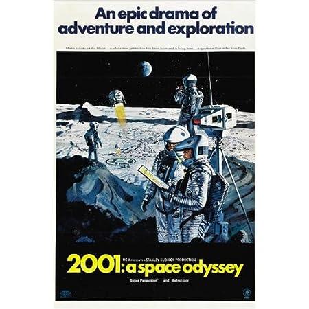 2001 A Space Odyssey Poster SKU 48329
