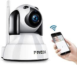 EU Wifi Baby Monitor con Conversaci/ón Bidireccional Vision Nocturna detecci/ón de Movimiento Control de App para Vigilancia de Beb/és Mascotas Ni/ñeras 1080p HD C/ámara de Seguridad Inal/ámbrica