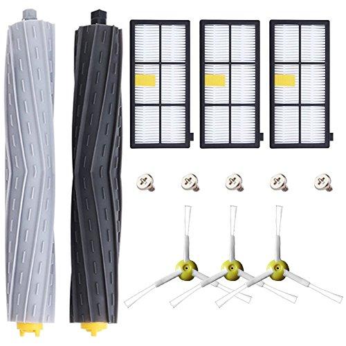 Blue Power Repuestos de Accesorios para iRobot Roomba Serie 800 805 860 861 870 871 880 885 890 900 960 980 Recambios para Aspiradoras de Filter