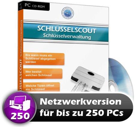 Faktura Manager Schlüsselverwaltung Rechnungsprogramm Netzwerk Software 250 PC