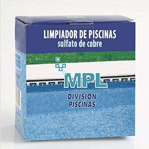 MPL Sulfato de Cobre 1Kg (Usado como Limpiador de Piscinas) (envíos sólo Península)
