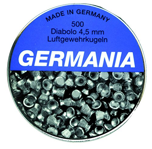 Jehn Germania Diabolokugeln 4, 5mm 500er Pack, grau, Dose
