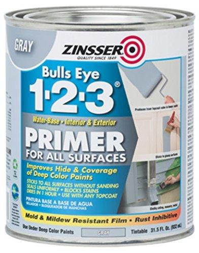 Rust-Oleum 286258 Zinsser Bulls Eye 1-2-3 Primer, 31.5...