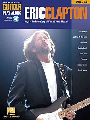 Guitar Play-Along Volume 41 Eric Clapton Tab Gtr Book/Cd (Hal Leonard Guitar Play-Along)