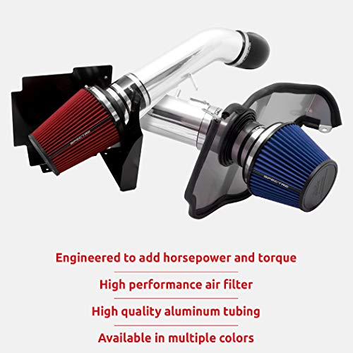 Spectre Performance Air Intake Kit: High Performance, Desgined to Increase Horsepower and Torque: 2000-2004 TOYOTA (Sequoia, Tundra) SPE-9961