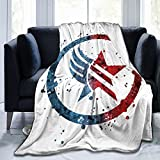 Mass Effect - Paragon_Renegade Combo Ultra-Soft Throws Blanket Air Conditioning Blanket for All Season Bedding Couch Plush House Warming Decor