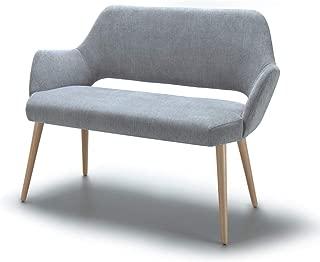 Marca Amazon -Alkove Andre - Sofá de diseño (gris claro)