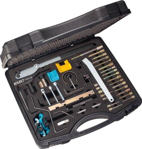HAZET Jeu spéciaux universels pour Le Calage de la Distribution 4794/48 ∙ Nombre d'outils : 48, Multicolore