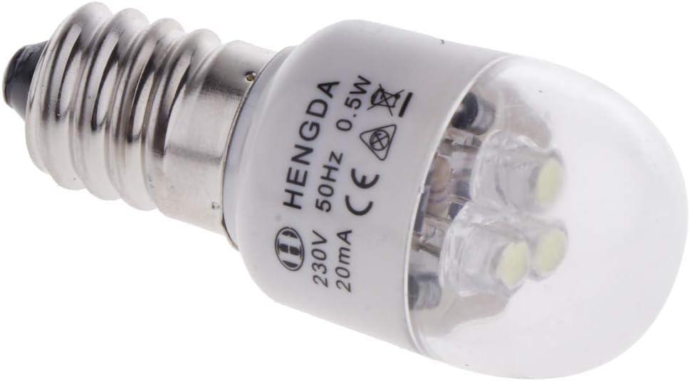 sharprepublic Máquina De Coser Doméstica LED Bombilla 0.5W para Singer Feiyue Acme