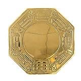 LXHJZ Espejo Feng Shui Bagua Espejo Cobre Feng Shui Espejo Bagua Espejo convexoFeng Shui Suministros para el hogar Decoración Espejo Chino Bagua