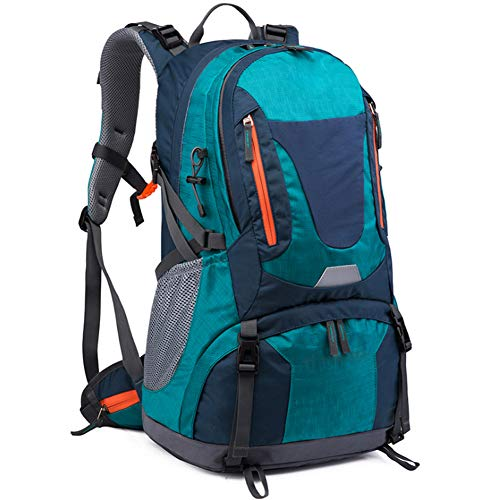 Outdoor Sports Backpack 50L Mountaineering Bag Men's Backpack Large Capacity Hiking Bag,green