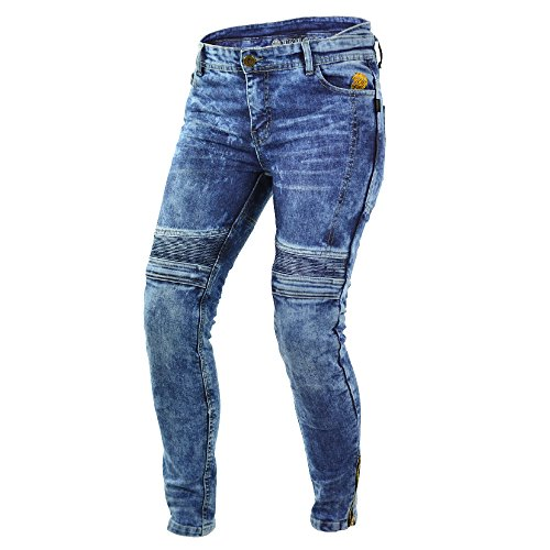 Trilobite micas Urban Motorrad Damen Jeans in Modern Slim Fit New, 34
