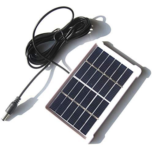 Cikuso 1W 6V Panel Solar Policristalino Placa de Vidrio Laminado Con Marco DC3M Línea Tablero de Luz Solar Del Jardín