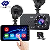 EE-ACE Car DVR 4 Inch Touch Screen Full HD 1080P Recorder Video G-Sensor