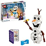 LEGO Disney Frozen II Olaf 41169 Olaf Snowman Toy Figure Building Kit (122 Pieces)