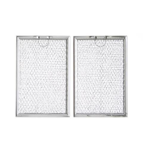 WB06X10309 Microwave Grease Filter - 2 Pack For GE Microwave-Aftermarket Replacement WB06X10359 ( Size 7.6