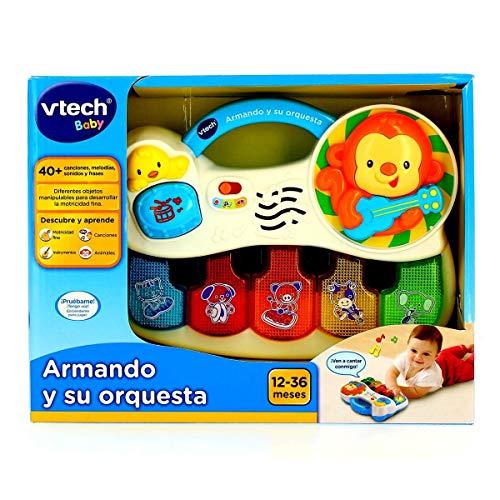 VTech- Armando y su Orquesta Piano Interactivo para Aprender