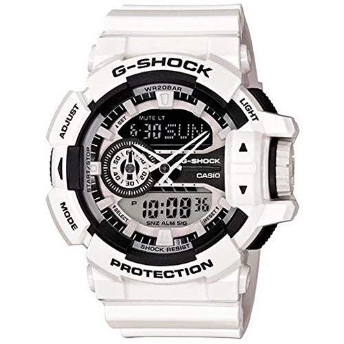 Casio Men's G-Shock GA400-7A White Plastic Quartz Sport Watch
