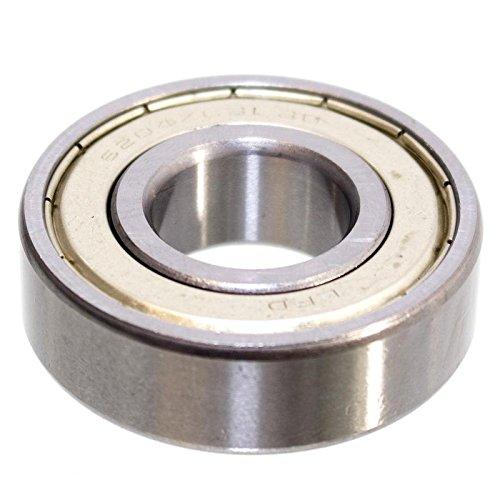Kugellager 47 x 20 x 14 mm 6204 ZZ = 2Z Rillenkugellager Lager Metallabschirmung