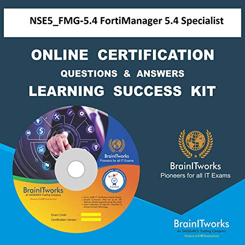 NSE5_FMG-5.4 FortiManager 5.4 Specialist Online Certification Video Learning Made Easy