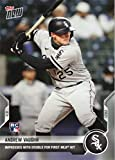 2021 Topps Now Baseball #42 Andrew Vaughn Rookie Card White Sox - 1st Official Rookie Card. rookie card picture
