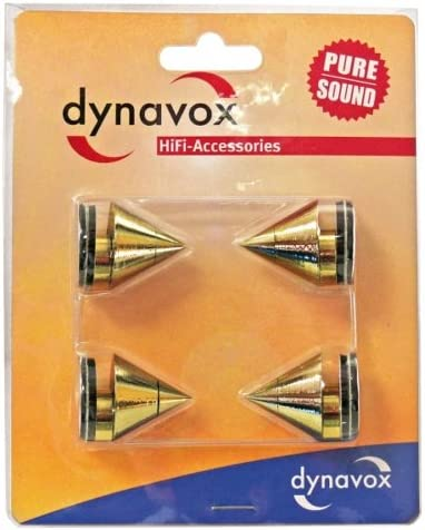 Dynavox Sub Watt Absorber 4er Set Höhenverstellbare Elektronik