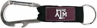 Pro Specialties Group NCAA Bottle Opener Carabiner Keychain