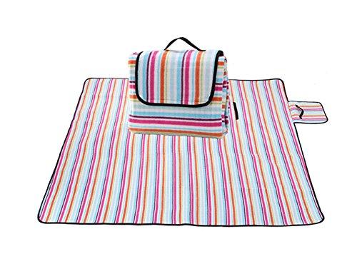 Wasserdichte Im Freien Picknickmatte Feuchtigkeitsdichten Öko-Tourismus,ColorBars-130*170