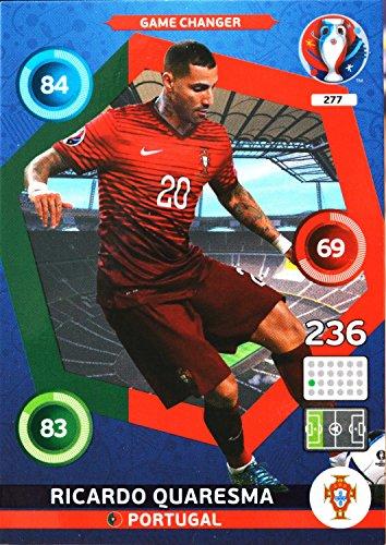 carte PANINI EURO 2016 #277 Ricardo Quaresma