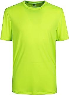 TIHEEN Mens Dri-Fit Active Athletic Performance Crewneck Short Sleeve T-Shirt
