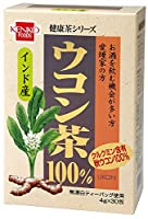 健康フーズのウコン茶100%(4g×30包入×20個)×1ケース          JAN:4973044011577