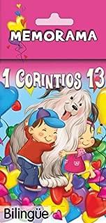 Producciones Prats 1 Corintios 13- Memorama (Bilingüe) 1st Corinthians 13 Memory Game