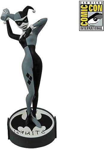 DC Comics Femme Fatales noir & blanc Harley Quinn 9  Statue SDCC 2015 Exclusive