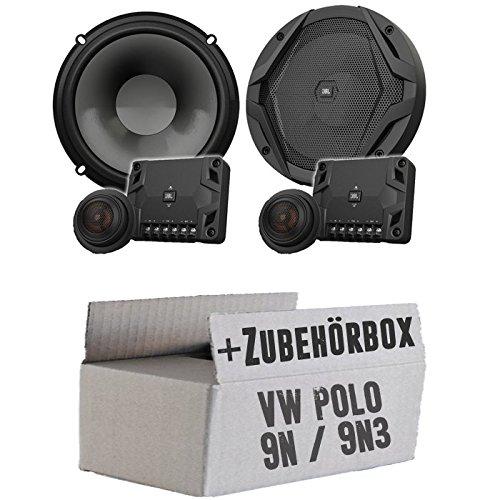 JBL GX600C   2-Wege   16,5cm Lautsprecher System - Einbauset für VW Polo 9N 9N3...