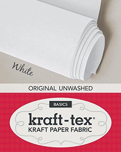 kraft-tex (TM) Basics Roll, White: Kraft Paper Fabric