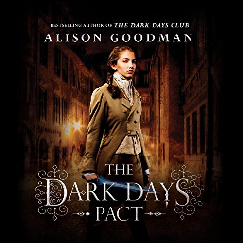 The Dark Days Pact audiobook cover art