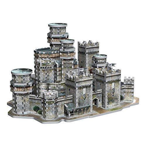 Wrebbit 3D Game of Thrones Winterfell 3D Jigsaw Puzzle (910 Piece) (GOTWF)