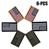 Estados Unidos Bandera Parche, Funpa 6 Piezas Airsoft Parches Badge Parches de...