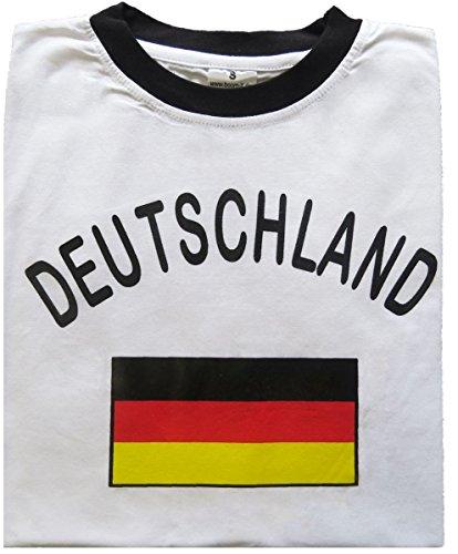 Sonia Originelli Fan-Shirt Deutschland Unisex Fußball WM EM Herren T-Shirt Größe XXXL