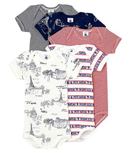 Petit Bateau 5943500 Abbigliamento Intimo, Multicolore, 18 mesi Bimba