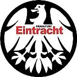 Eintracht Frankfurt Germany Retro Soccer Football Alta Calidad De Coche De Parachoques Etiqueta Engomada 12 x 12 cm