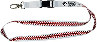 Baseball Lace Lanyard - Detachable Buckle and Upgraded Clasp for Keys, ID Card, Name Holder, etc.
