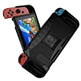 Jiarusig Compatible with Nintendo Switch Case, Switch Protective Case, Rugged Slim Soft Switch Grip Case Cover with Shockproof+ Anti-Scratch Design Compatible with Nintendo Switch/ Joy-Con Controller