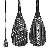 AQUBONA SUP Paddle- 3 Pieces 100% Carbon Fiber...