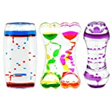Playlearn Variety Pack Sensory Liquid Timer - Motion Bubbler - Fidget Toys