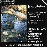 Sibelius: 6 Humoresques; 2 Ser by JEAN SIBELIUS (1992-10-26)