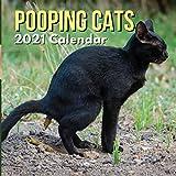 Pooping Cats Calendar 2021: Funny Animal Gag Joke Presents...