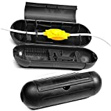 Finduat 2 Pack Outdoor Electrical&Extension Cord safety cover,plug cover box with waterproof protector seal to Protect Outdoor Plugs,Pool Pumps (Black)