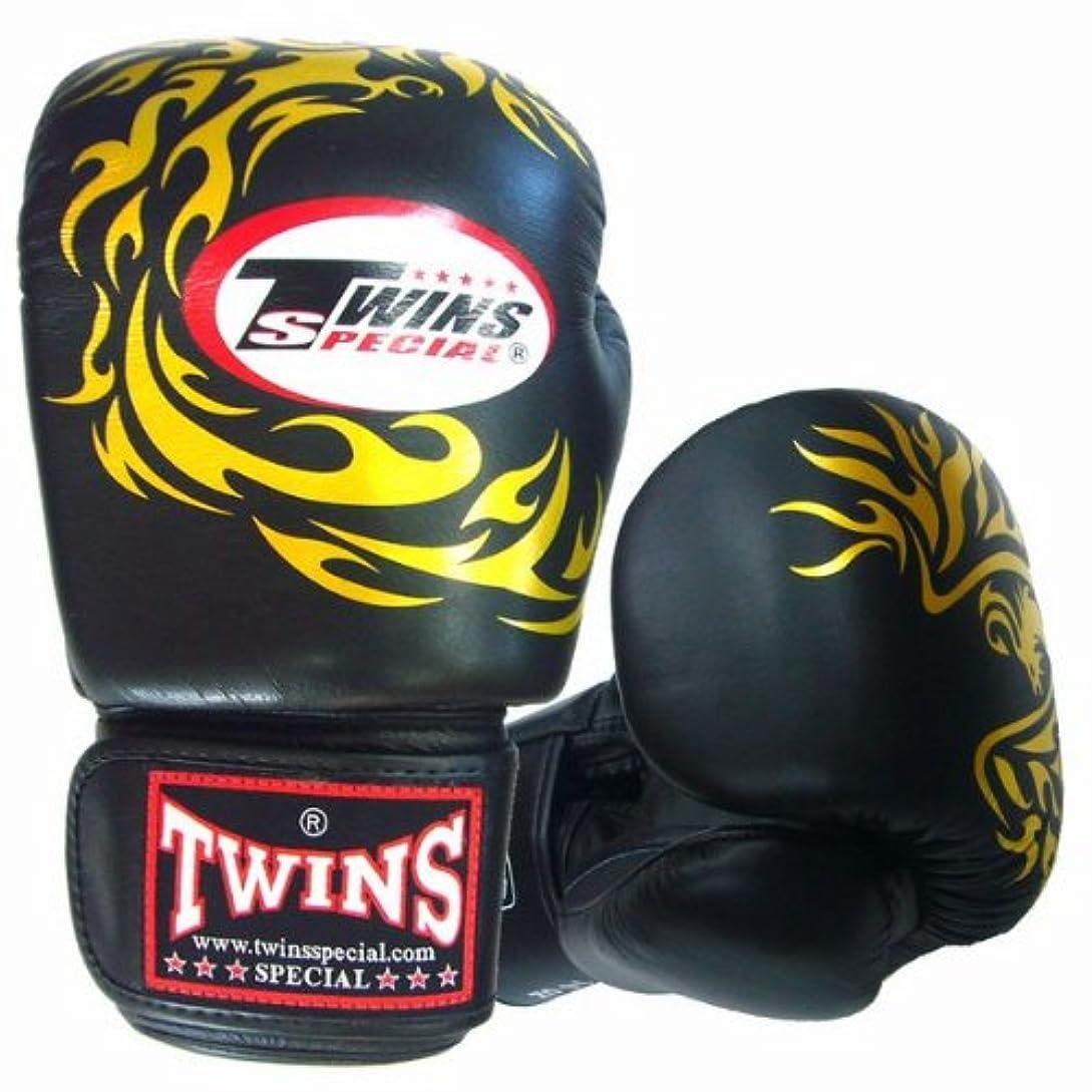 指令リーダーシップ朝ごはんTwins ボクシンググローブ 本革製 フェニックス Black