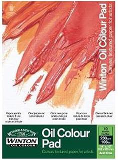 Winsor & Newton Ölmalblock, 10 Blatt Ölpapier mit